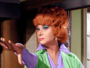 Agnes Moorehead in Bewitched