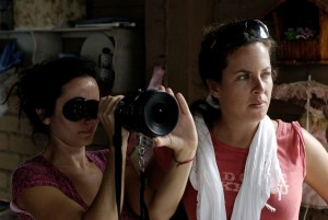Director Claudia llosa & Cinematographer Natasha Braier