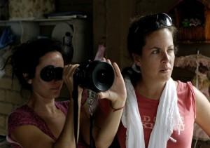 Cinematographer Natasha Braier and director Claudia Llosa