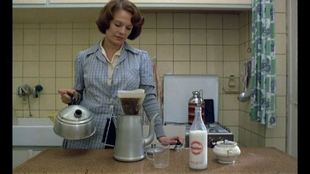 Film still from Jeanne Dielman, Dir. Chantal Akerman